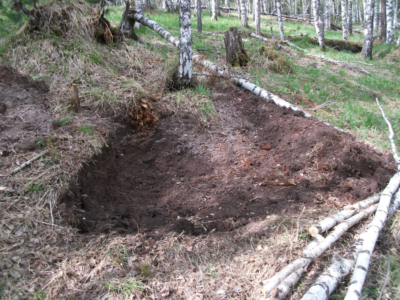Как построить землянку в лесу своими руками с печкой 71